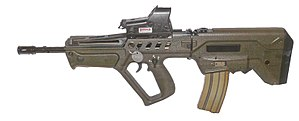 bullpup assault rifle